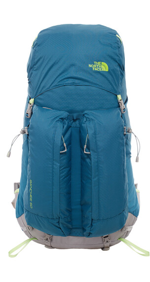The North Face W's Banchee 50 Backpack Blue Coral/Budding Green